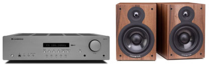 Cambridge Audio AXR85+SX50Walnut