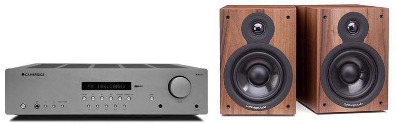 Cambridge Audio AXR85+SX50Walnut