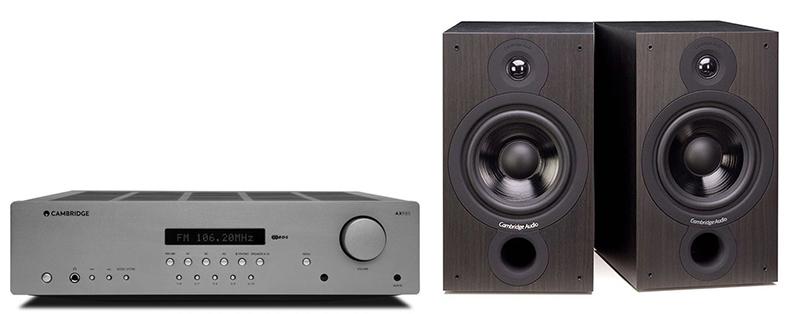 Cambridge Audio AXR85+SX60Black