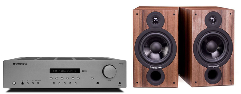 Cambridge Audio AXR85+SX60Walnut