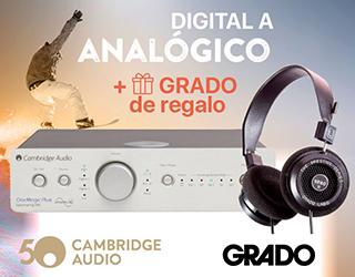 Promoción Cambrdige Audio & Grado