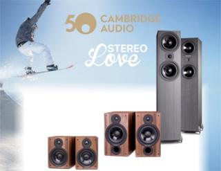 Promoción Cambridge Audio SX