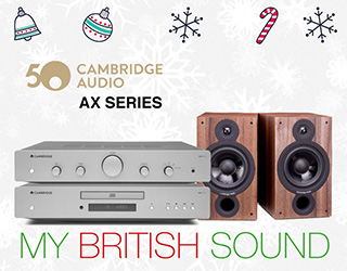 Promoción Cambridge Audio AX Series