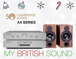 Promoción Cambridge Audio AX Series