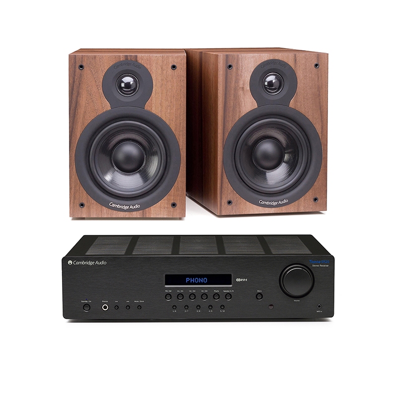 Cambridge Audio Azur SR20 +SX50 Walnut