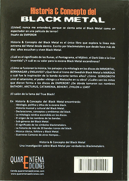 Historia & Concepto del Black Metal