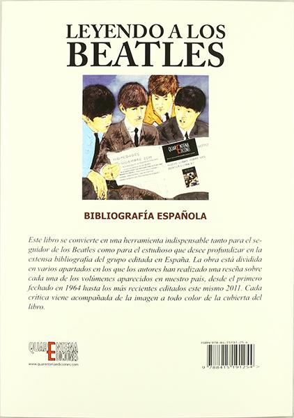 Leyendo a los Beatles: Bibliografía Española