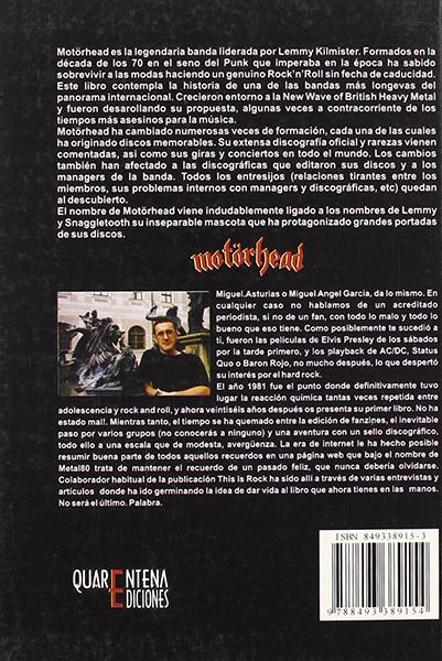Motörhead: Sin remordimientos