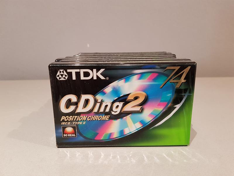 TDK CDing2 Chrome 74