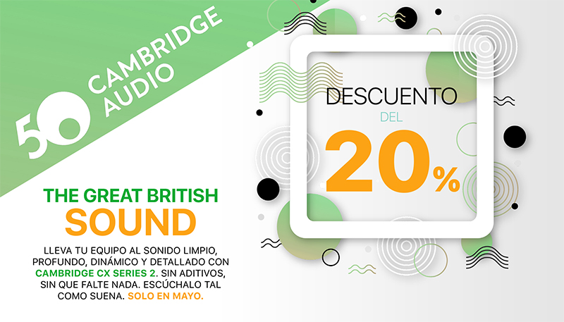 Promo Cambridge Audio serie CX