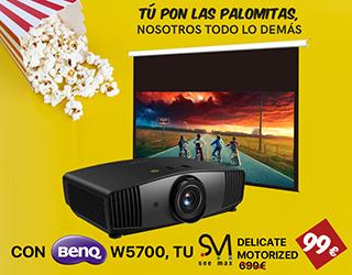 Promoción BenQ W5700 + Seemax