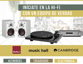Promo un equipo de verdad, Cambridge, Music Hall y Dali