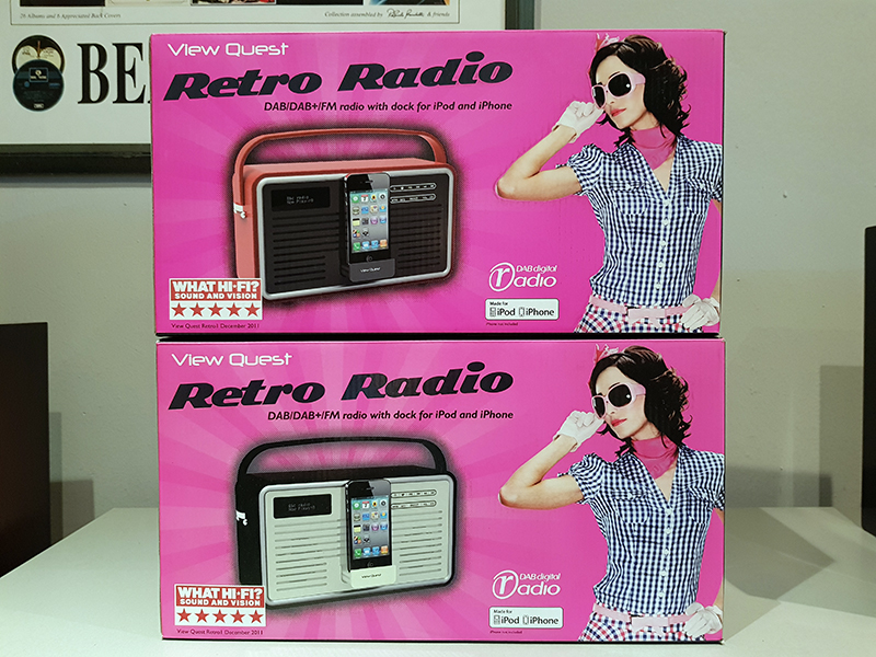 View Quest Retro Radio