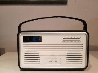 View Quest Retro Radio Black