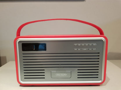 View Quest Retro Radio Red