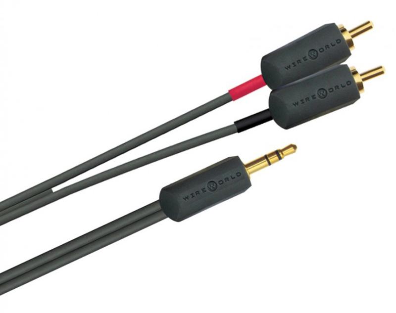 Wireworld I-World Jack 3.5 mm - 2RCA