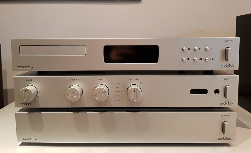 Audiolab Q+P+CD
