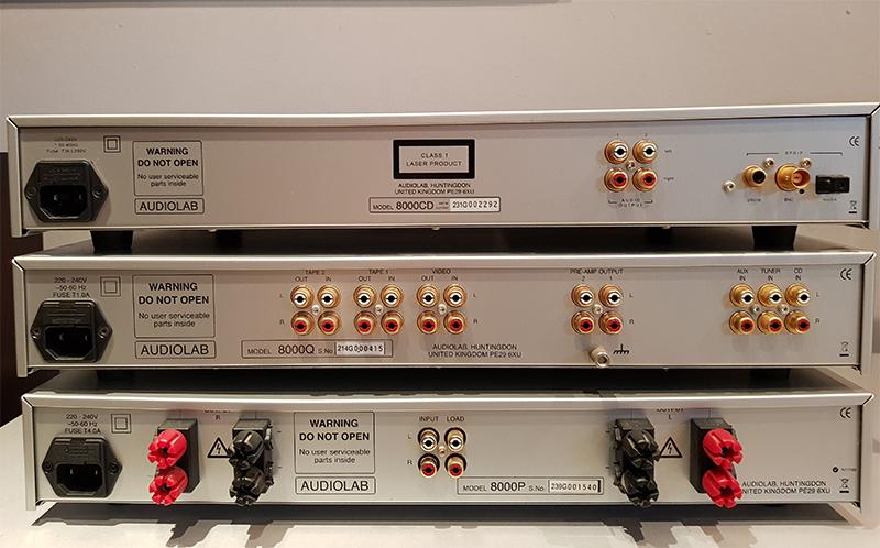 Audiolab 8000 Q-P-CD