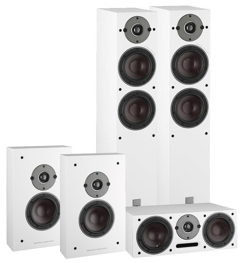 Dali Oberon 5 On-Wall Cinema Pack White