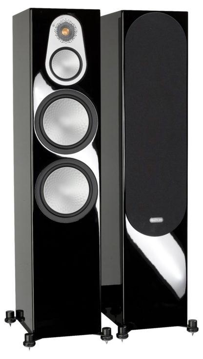 Monitor Audio Silver 500 Negro Lacado