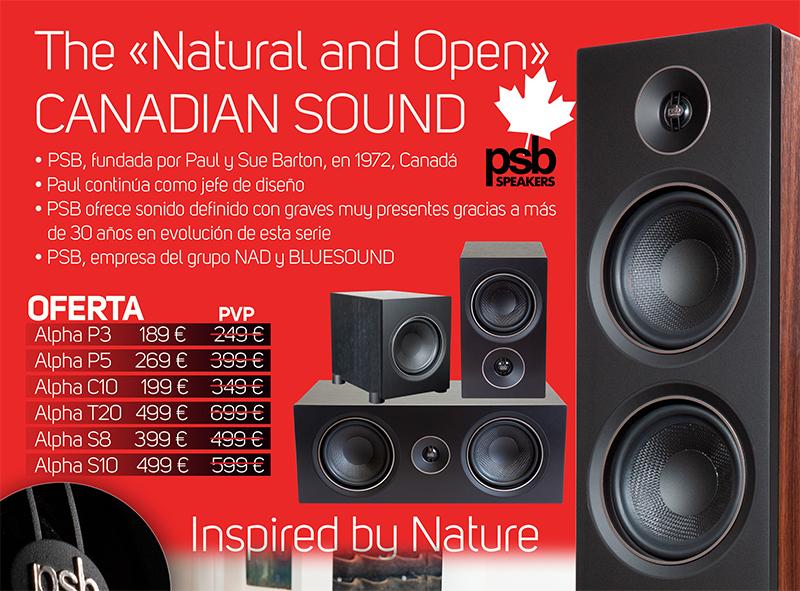 Promo PSB Speakers