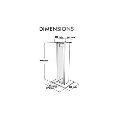 Norstone Alva dimensiones