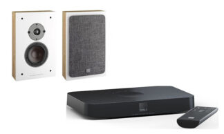 Dali Oberon On-Wall C + Sound Hub Compact Oak