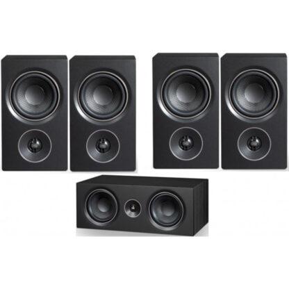 PSB Alpha Pack P3+C10+P3 Black