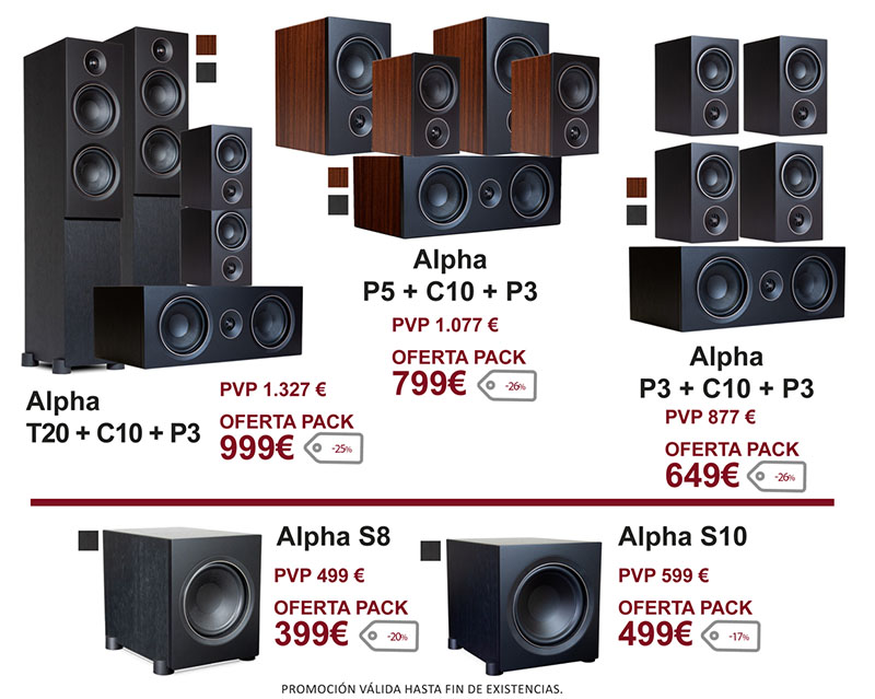 PSB Alpha Cinema Pack