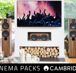 Cambridge Audio Cinema Packs